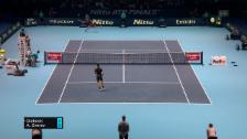 Link öffnet eine Lightbox. Video Livehighlights Djokovic-Zverev abspielen