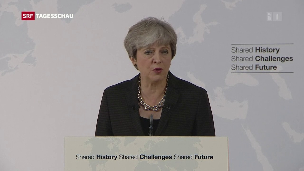 Theresa May fordert Brexit-Übergangsphase