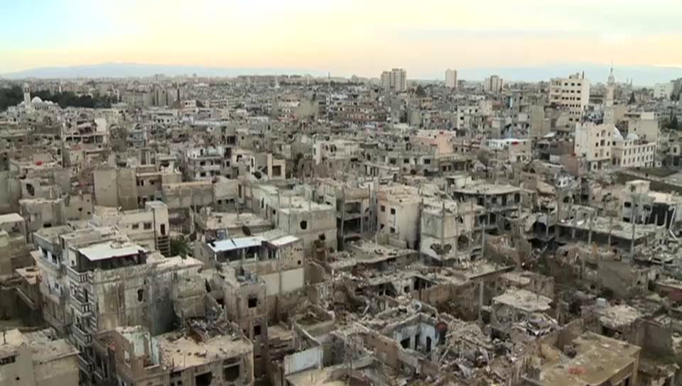 Bilder der Zerstörung in Homs (unkommentiert)