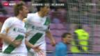 Video «St. Gallen schlägt Servette dank Blitzstart» abspielen