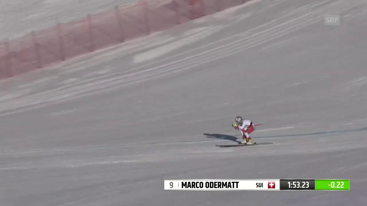 Marco Odermatt fährt zu WM-Abfahrtsgold