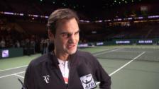 Link öffnet eine Lightbox. Video Federer: «Das hätte ich mir nie erträumt» abspielen