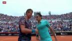 Video «Federer in Rom im Halbfinal» abspielen