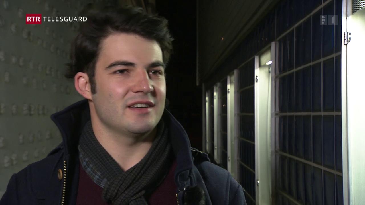L'actur Curdin Caviezel da Luven ha succes sur ils cunfins da la Svizra ora
