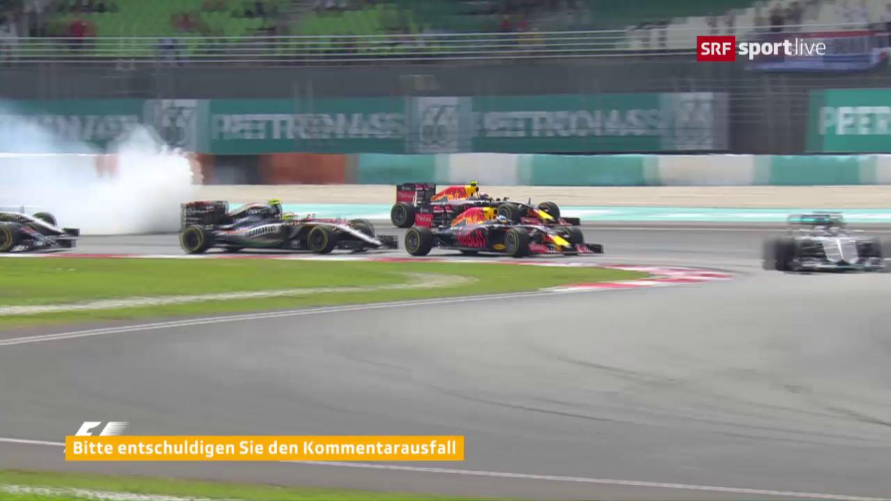 Vettels Manöver verstimmt Verstappen