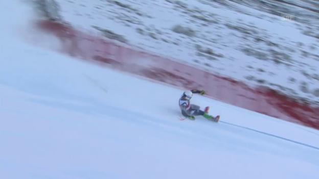 Video «Ski: Santa-Caterina-Zwischenfälle» abspielen