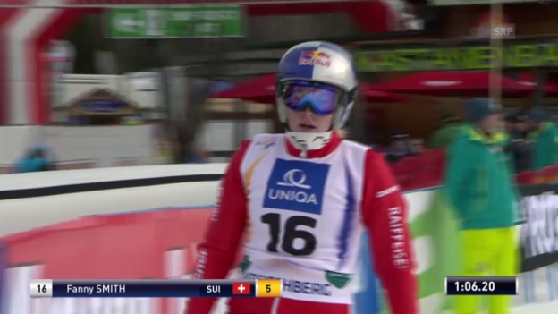Video «Skicross: WM, Qualifikation Smith» abspielen