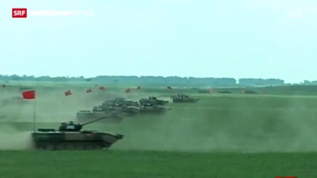 Video «China exportiert immer mehr Waffen» abspielen