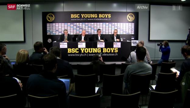 Video «Erpressungsprozess gegen Fussballmanager Erich Vogel» abspielen