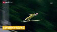 Video «Freund siegt in Einsiedeln» abspielen
