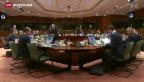 Video «Schnellzugs-Tempo am EU-Gipfel» abspielen