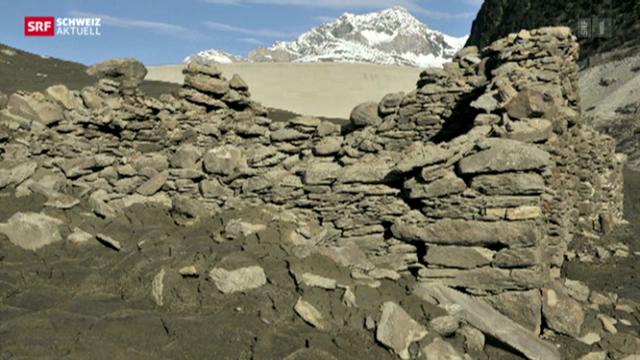 Lago di Lei: Verwunschene Ruinen im Stausee
