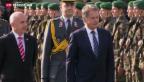 Video «Hoher finnischer Besuch in Bern» abspielen
