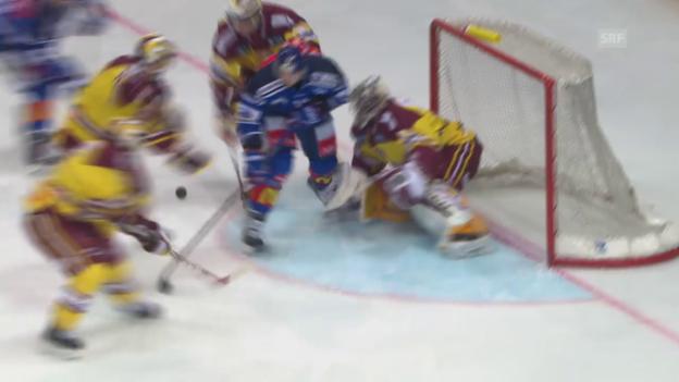 Video «Eishockey: Playoff-Halbfinal, Zusammenfassung ZSC -Genf» abspielen