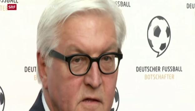 Video «Reaktionen auf Blatters Rücktritt» abspielen