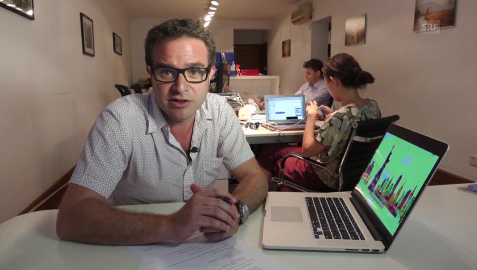 SRF-Korrespondent Pascal Nufer erklärt das Xi-Dada-Video