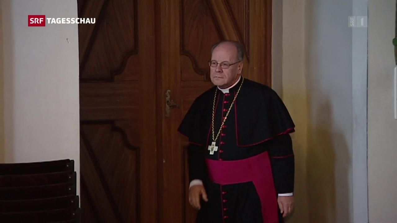 Bischof Huonder bietet dem Papst seinen Rücktritt an
