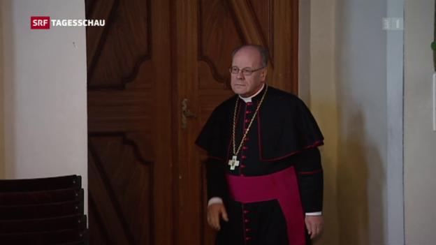 Video «Bischof Huonder bietet dem Papst seinen Rücktritt an» abspielen