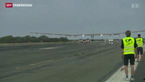 Video «Solar Impulse bricht Weltrekord» abspielen