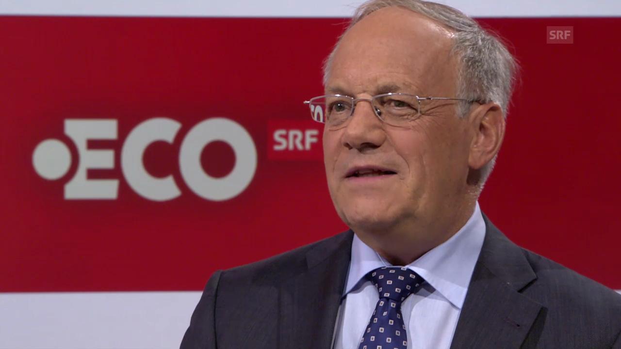 Johann Schneider-Ammann zur Annahme der Initiative