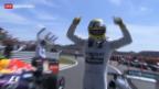 Video «Rosberg triumphiert in Silverstone» abspielen