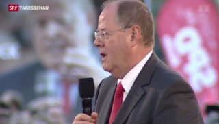 Video «SPD-Schlussveranstaltung vor Bundestagswahlen» abspielen