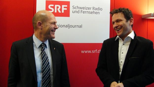 Anton Lauber und Thomi Jourdan im Gespräch (Marlène Sandrin, 23.05.2013)