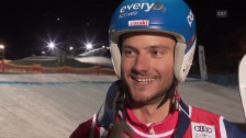 Video «Das sagt Détraz zu seinem 1. Weltcupsieg» abspielen