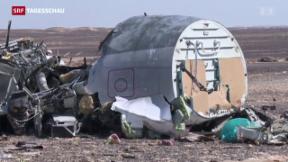 Video «Offene Fragen nach Flugzeugabsturz» abspielen