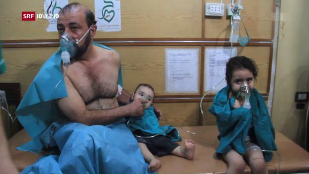 Video «Aleppo – Ort des Schreckens» abspielen