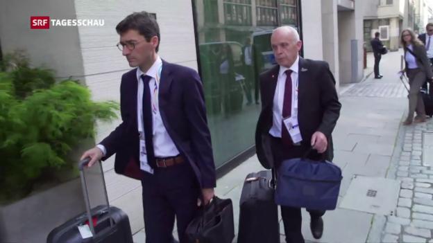 Video «Ueli Maurer beim G20-Gipfel» abspielen