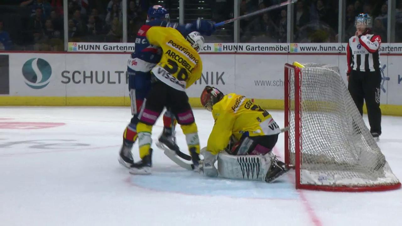 ZSC erspielt sich gegen den Meister Bern gleich 3 Matchpucks