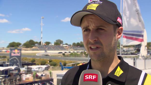 Video «Lüthi: «Ich war zu sehr am Limit im ganzen Rennen»» abspielen