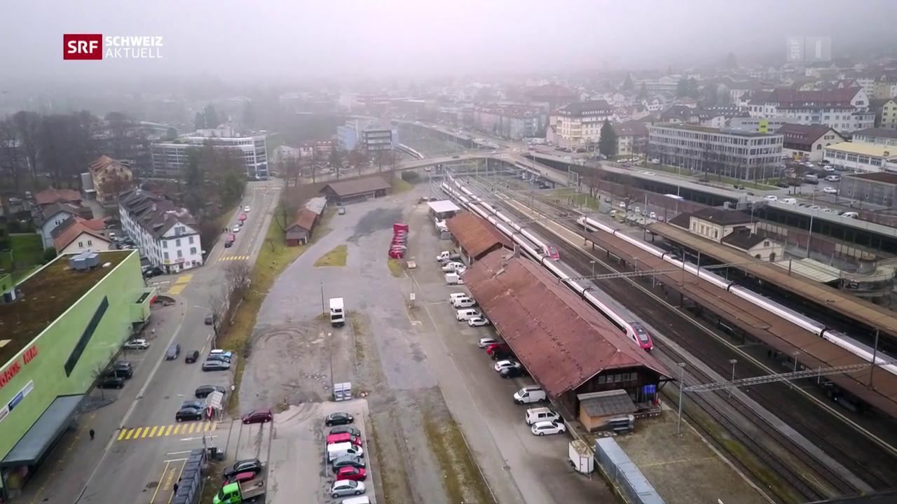 St. Gallen will neues Stadtquartier