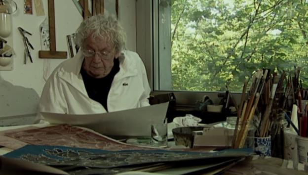 Video «Abschied: Gedenkfeier für Hans Erni» abspielen