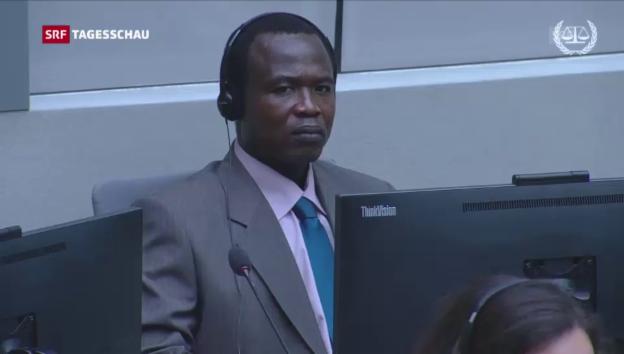Video «Prozess gegen ugandischen Kriegsverbrecher» abspielen
