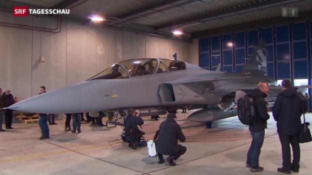 Video «Vor der nächsten Kampfjet-Debatte» abspielen