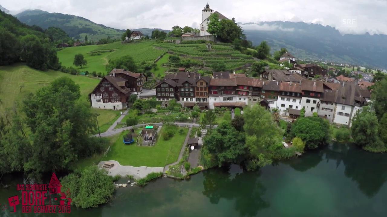 Wird Werdenberg das schönste Dorf der Schweiz 2015?