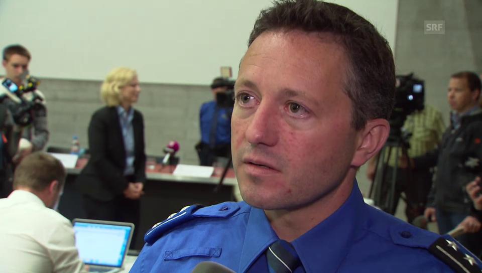 Kripochef Markus Gisin zur Fahnung