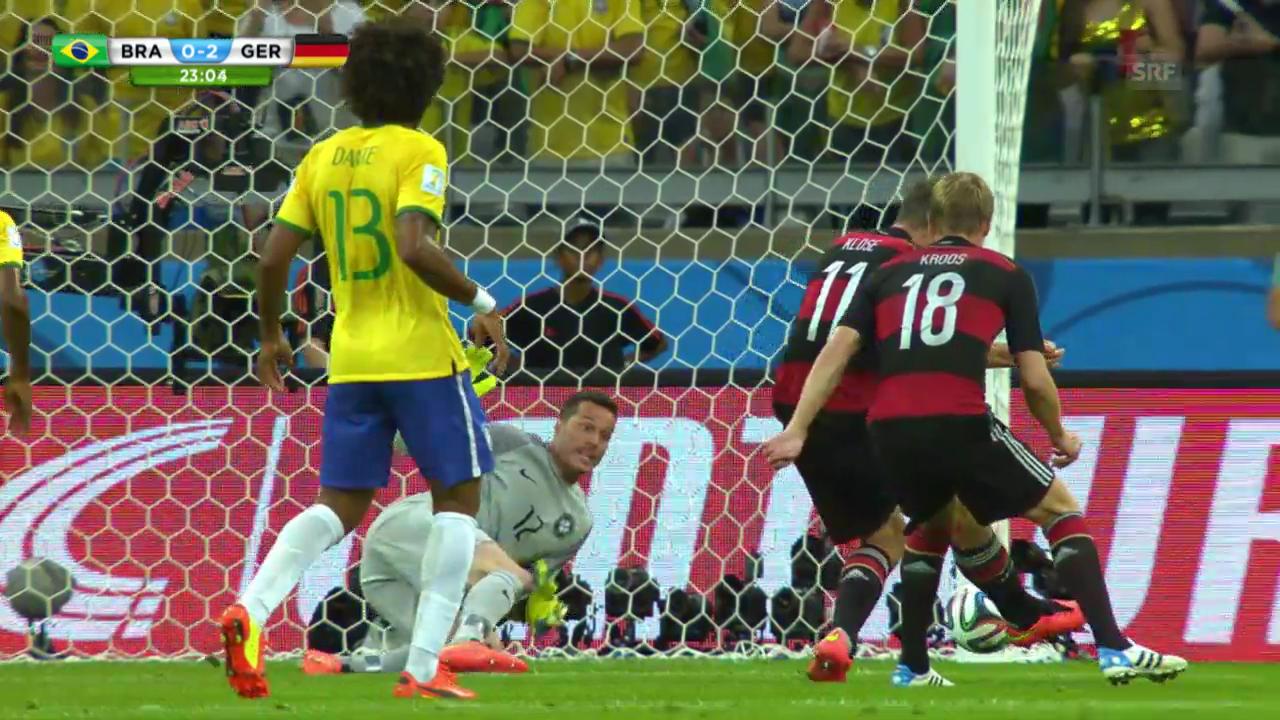 FIFA WM 2014: Das Rekord-Tor von Klose