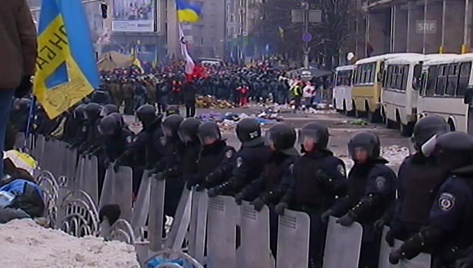 Die Ereignisse in Kiew (unkommentiert).
