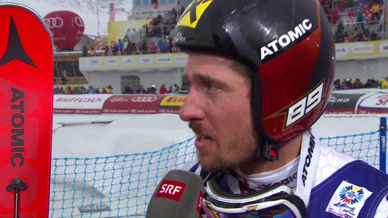 Weltmeister Hirscher: «Ein saumässig anstrengendes Rennen»