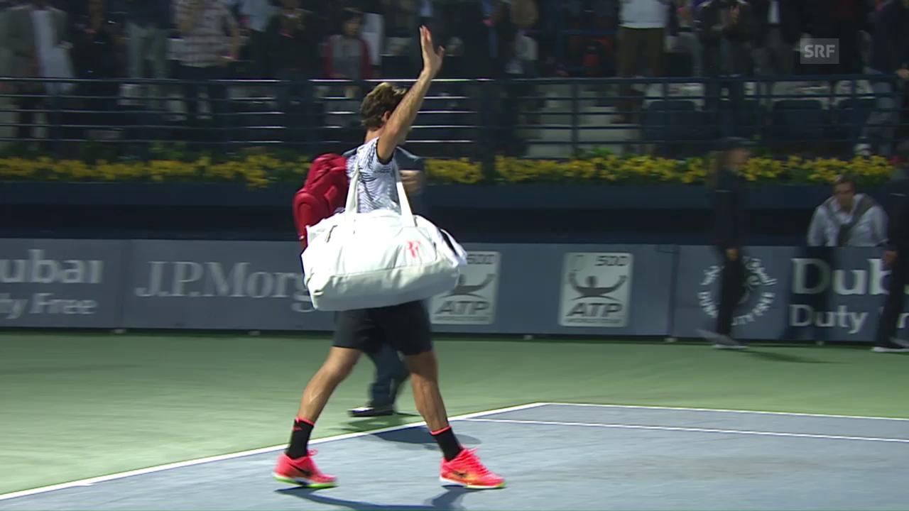 Federer scheitert in Dubai an Qualifikant Donskoi