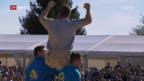 Video «Schwingen: Orlik gewinnt das Thurgauer Kantonalfest» abspielen