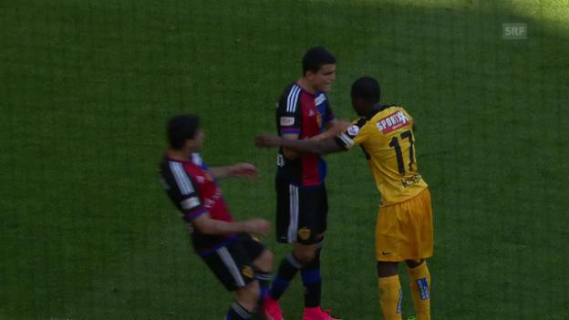 Video «Assalé hat seinen Nerven nicht im Griff» abspielen