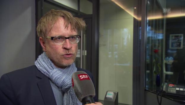 Video «André Marty zu den Ermittlungen um die Tatwaffe» abspielen