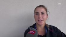 Video «Bencic über ihre Rückkehr und die ausgeheilte Verletzung» abspielen