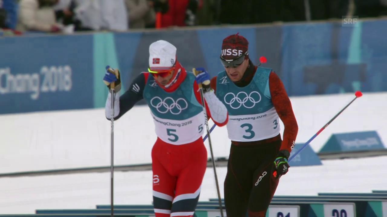 Enttäuschung für Cologna im Skiathlon