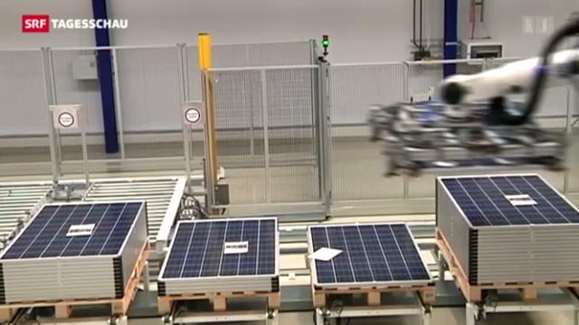 Solarpanels aus China unerwünscht