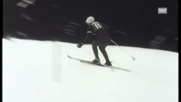 Video «1958: Vierter Sieg in Serie von Sailer» abspielen